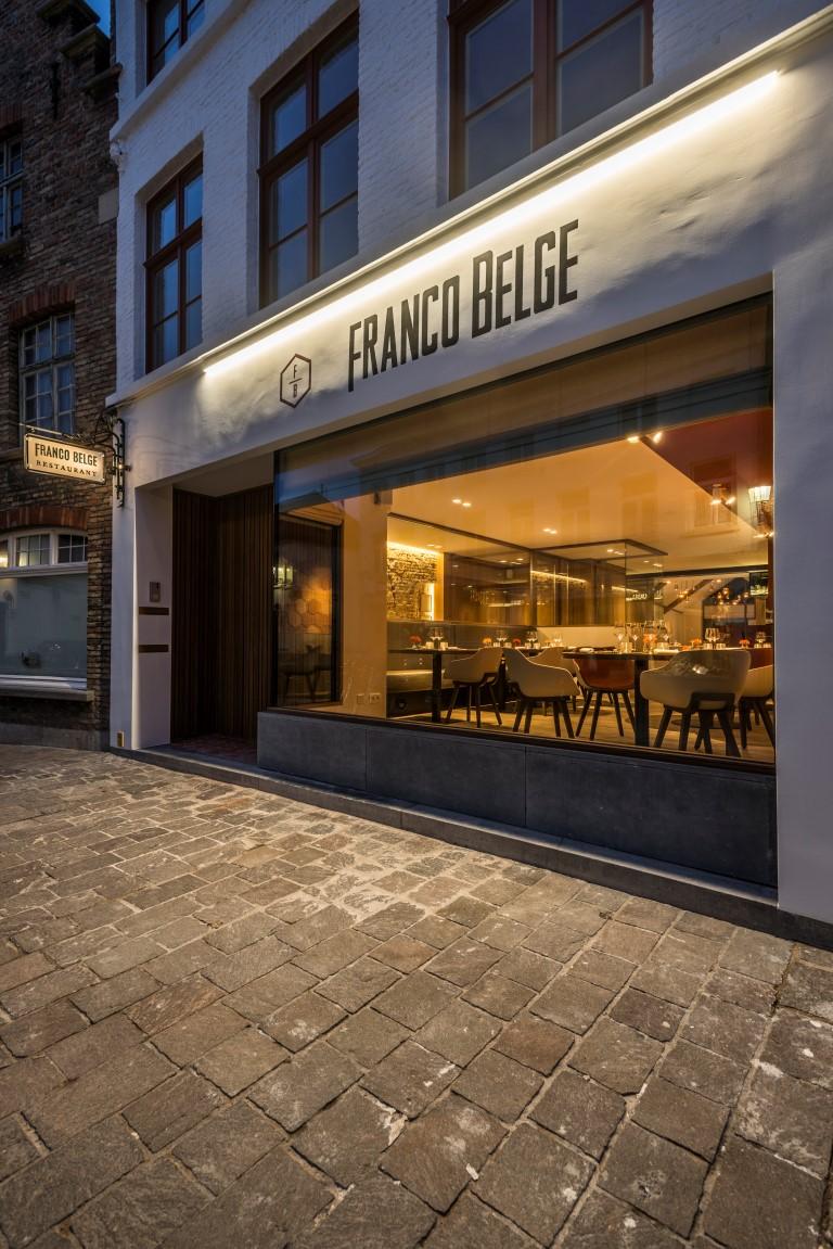 buitenverlichting Langestraat, Brugge