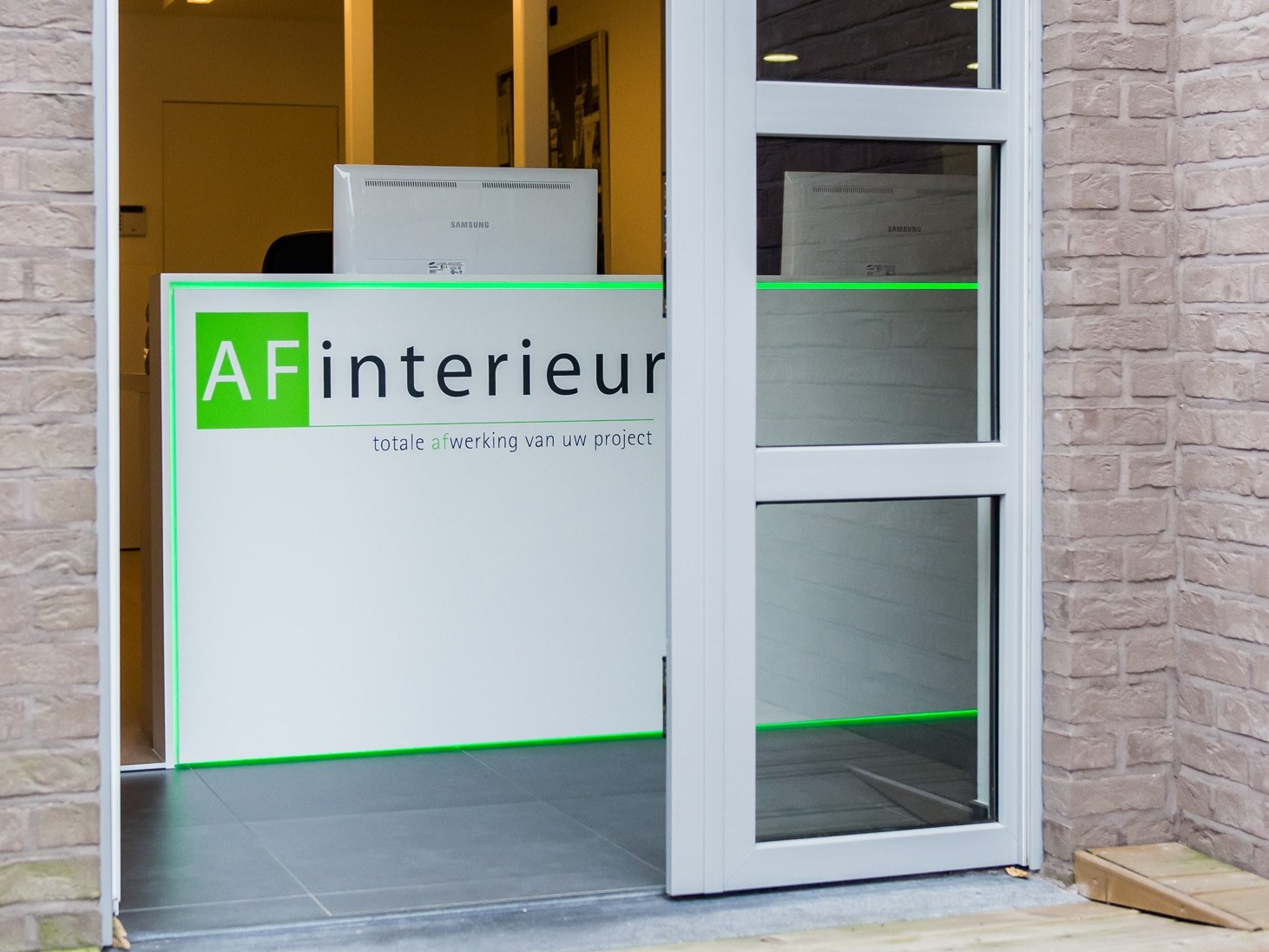 Inkom Showroom AF-interieur