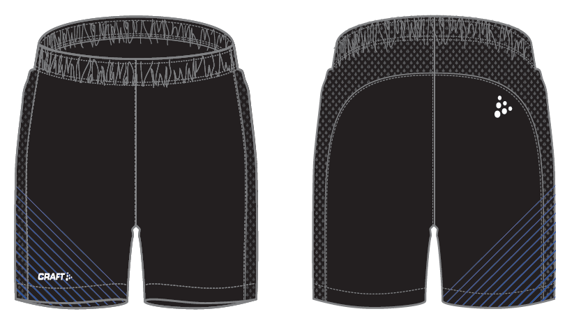 Light shorts woven man