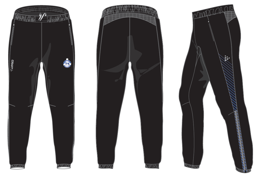 Warm up pants vrouw