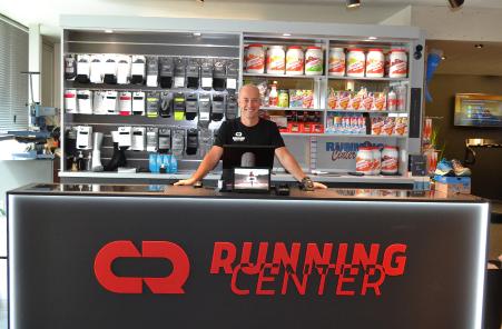 Sander op bezoek bij Davy, zaakvoerder Running Center Brugge