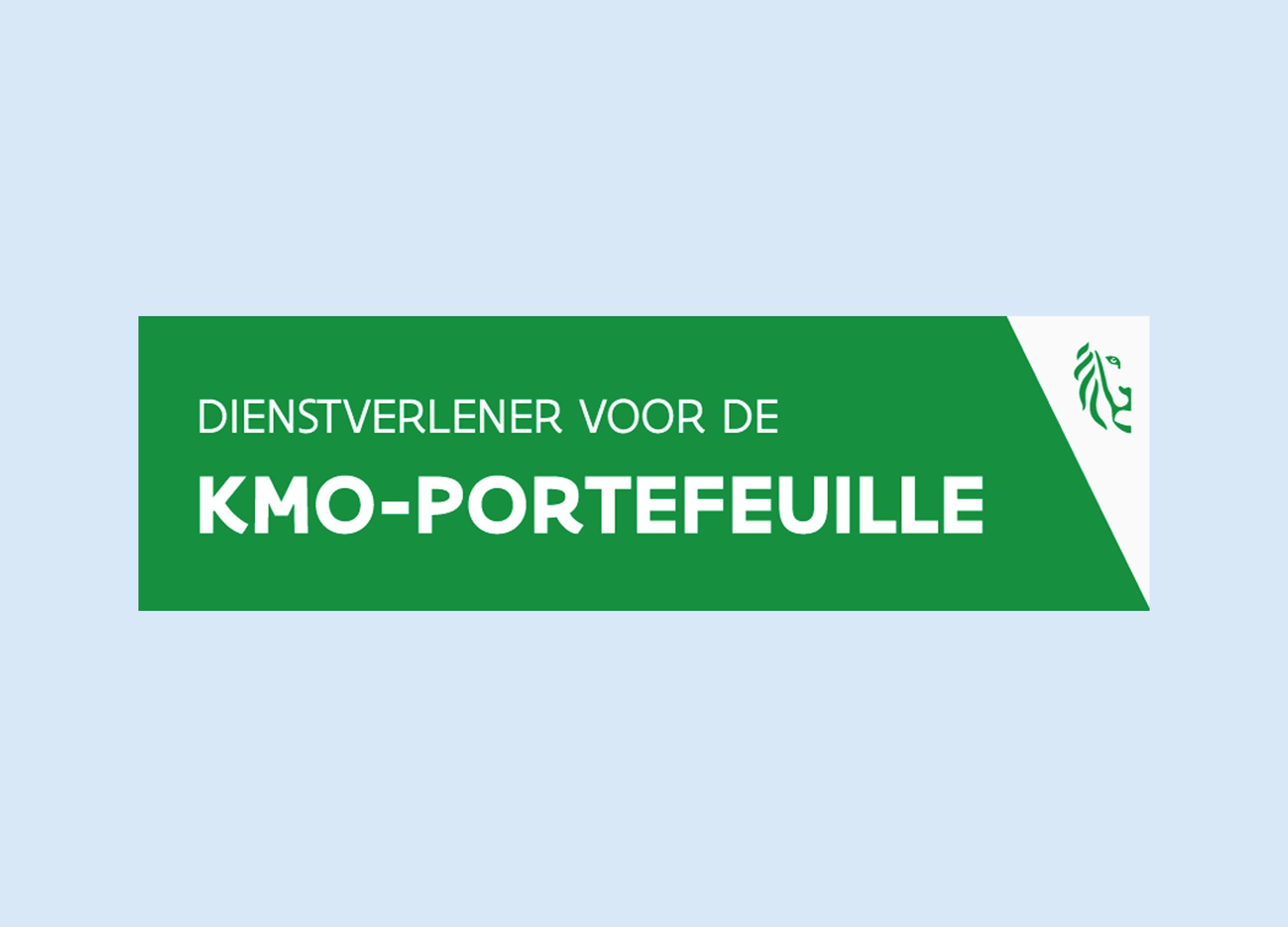 Officiële dienstverlener KMO-portefeuille