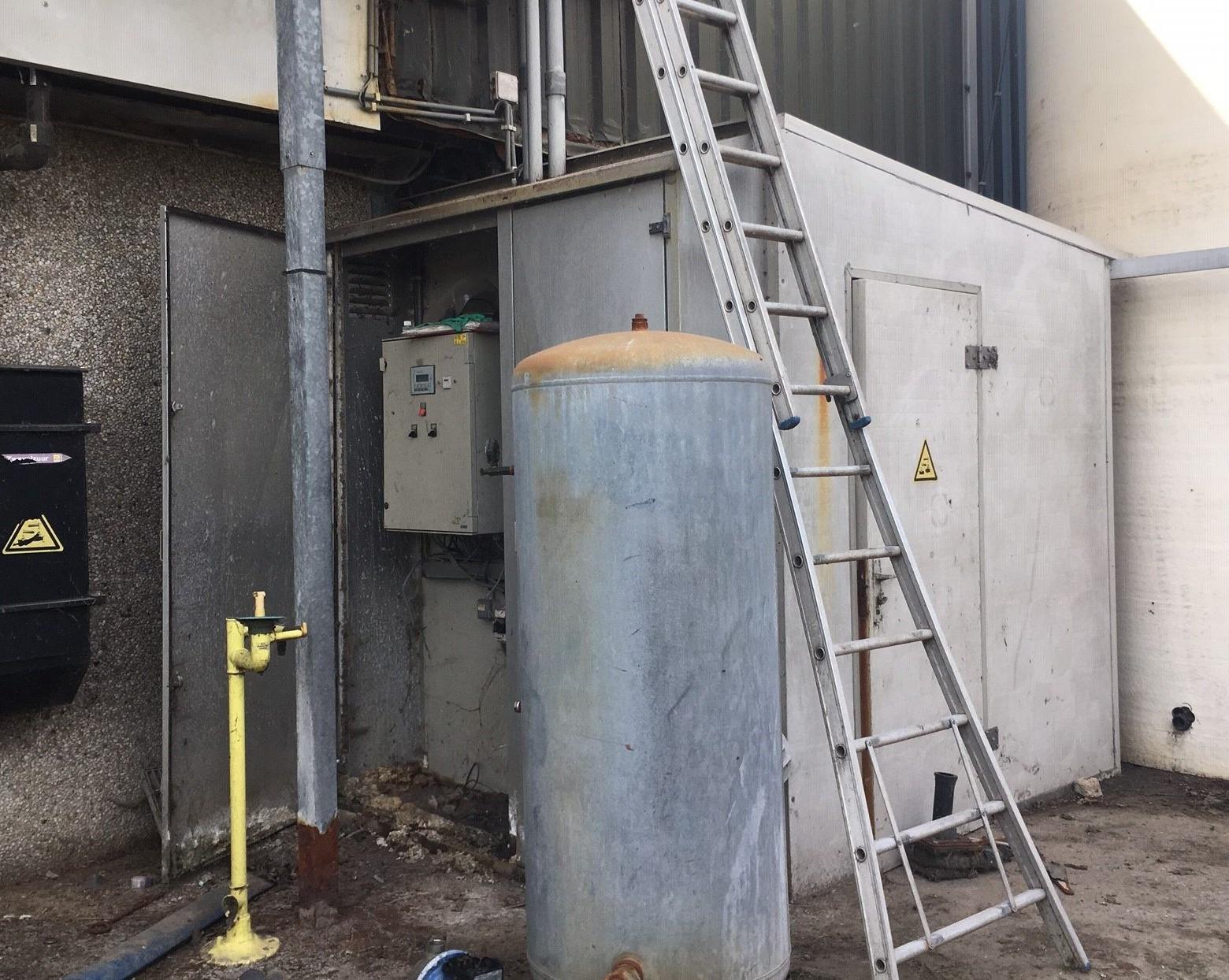 Nieuwe sturing chemische luchtwasser