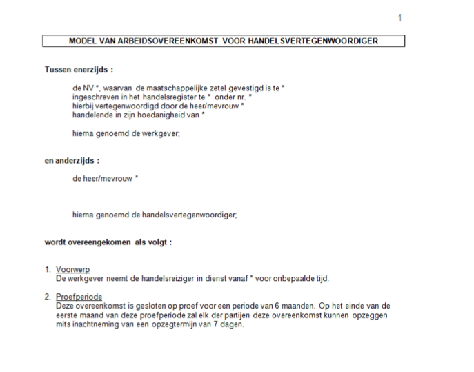 Contrats de travail traduits par des traducteurs juridiques