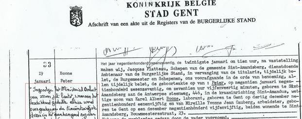 Certificat de célibat par des traducteurs jurés