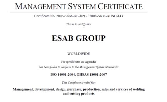 ISO-certificatie vertaald door technische vertalers