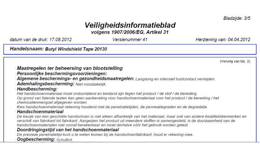 MSDS-fiches vertaald door technische vertalers
