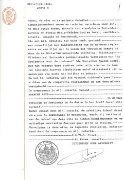 Notariële akten vertaald door juridische vertalers
