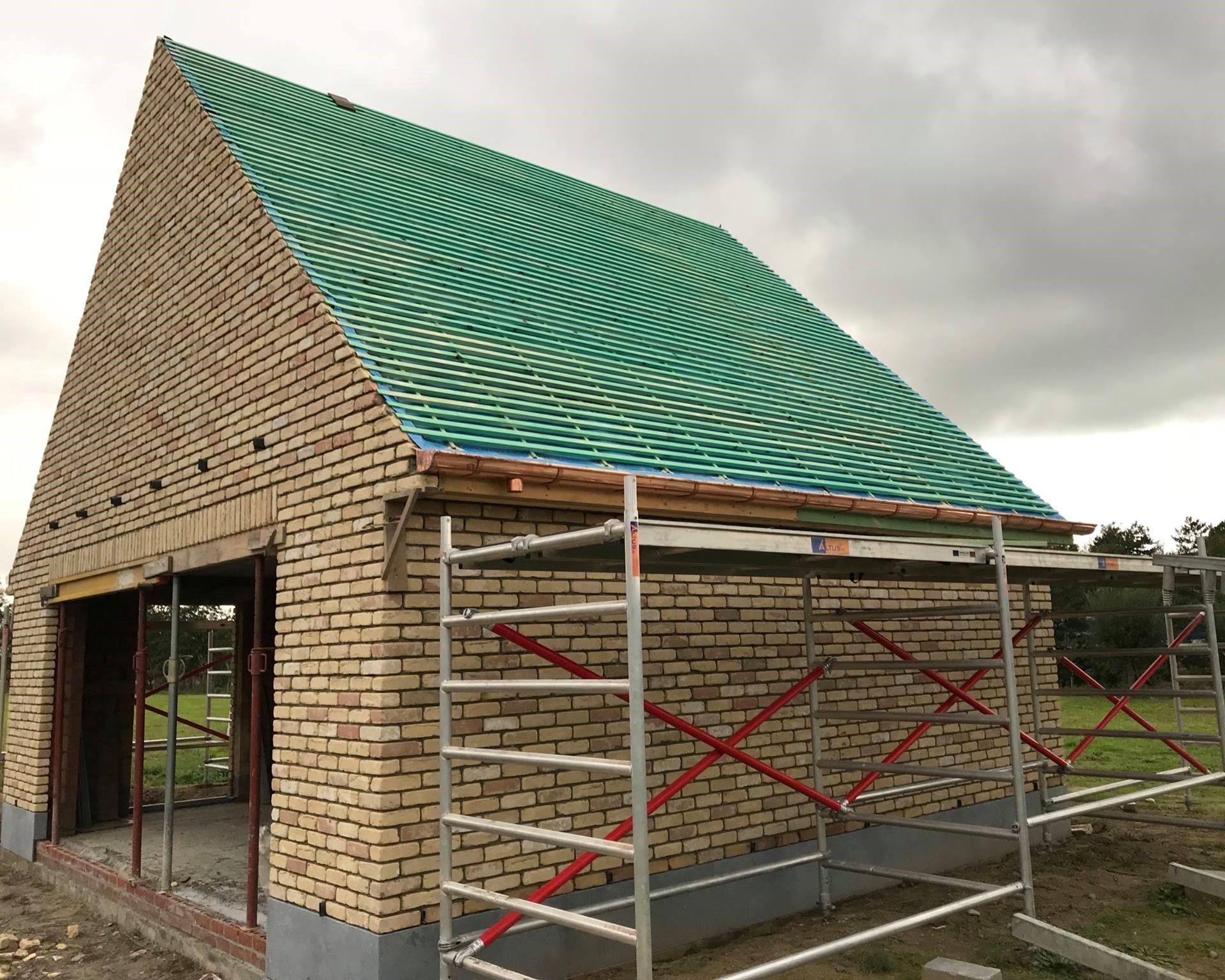 Nieuw Hellend Dak: dakconstructie