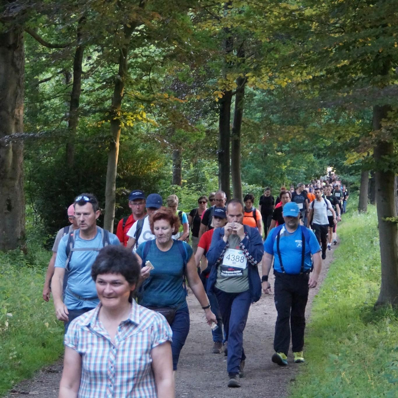 21 km Wandelen