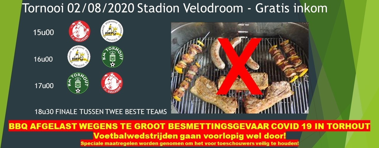 Geen BBQ