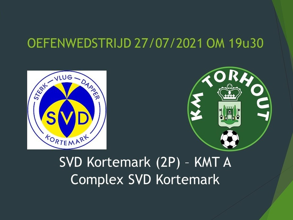 SVD Kortemark - KM Torhout 3-2