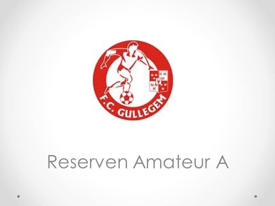 Reserven Amateur A - Football Club Gullegem 2-5
