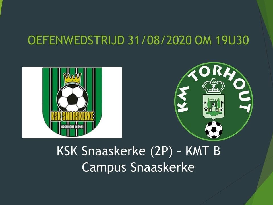 KSK Snaaskerke (2P) - KMT B 3-4