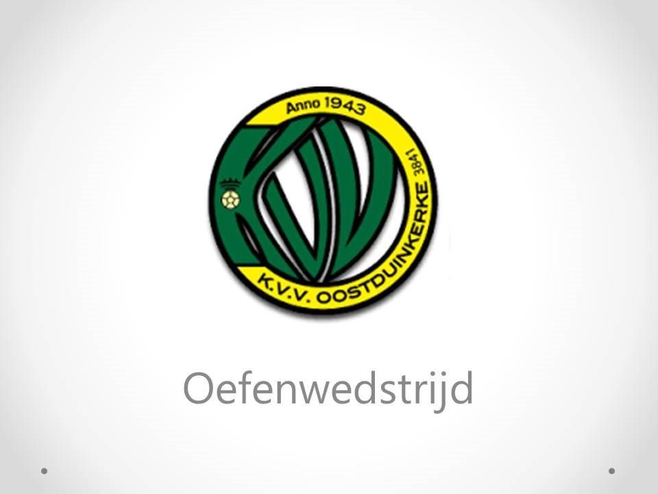 KMT - KVV Oostduinkerke (1P) 0-1