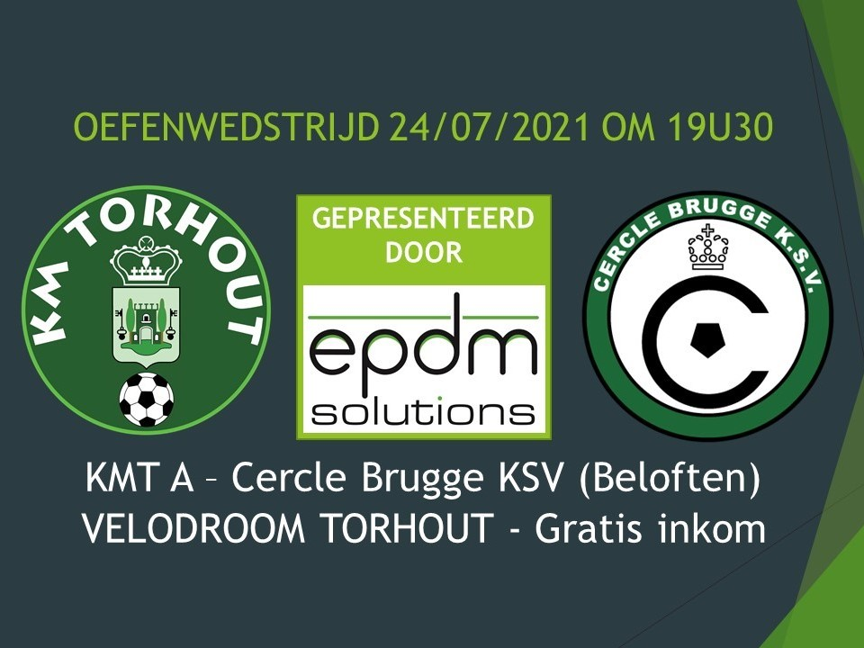 KMT - Cercle Brugge KSV Beloften 1-1