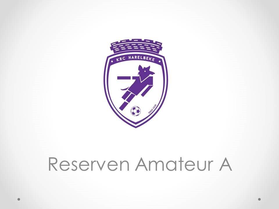 K.RC. Harelbeke - Reserven Amateur A 1-0