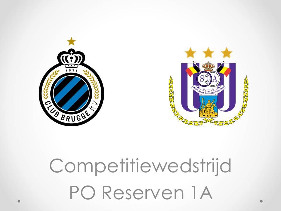 Reserven 1A Club Brugge - RSC Anderlecht 1-0