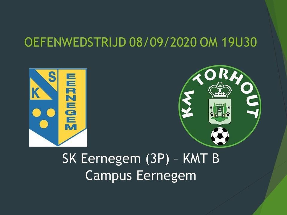 SK Eernegem (3P) - KMT B 2-3