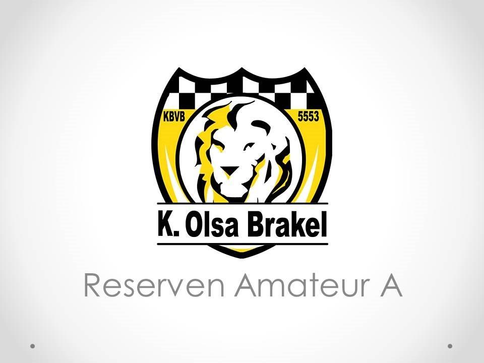 K. Olsa Brakel - Reserven Amateur A 3-2