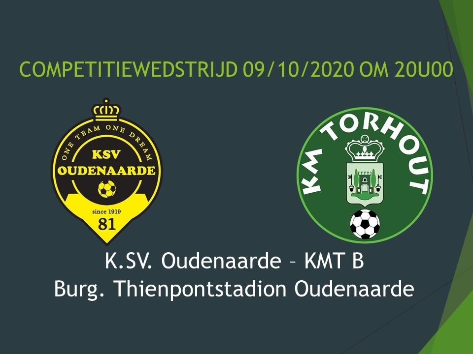 K.SV. Oudenaarde - KMT B 3-0