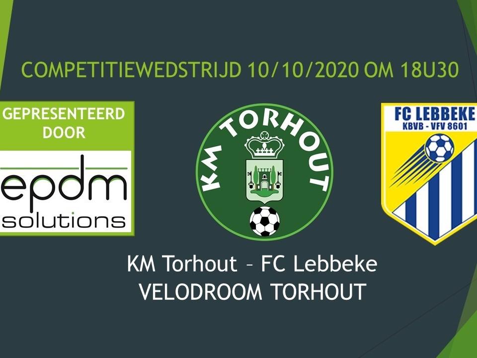 KM Torhout - FC Lebbeke 2-2