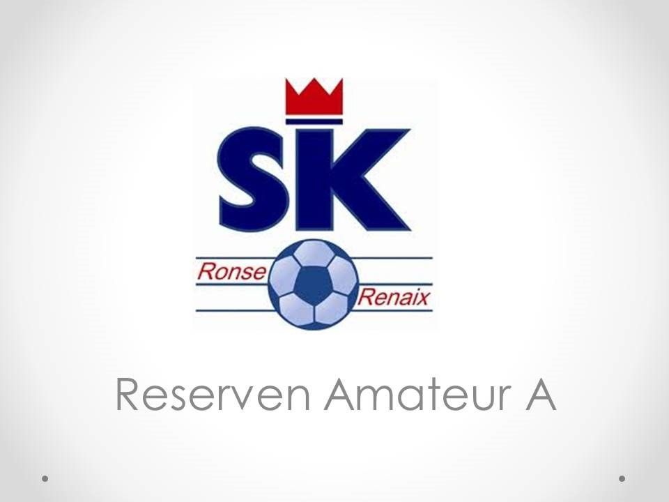K.SK Ronse - Reserven Amateur A 1-4