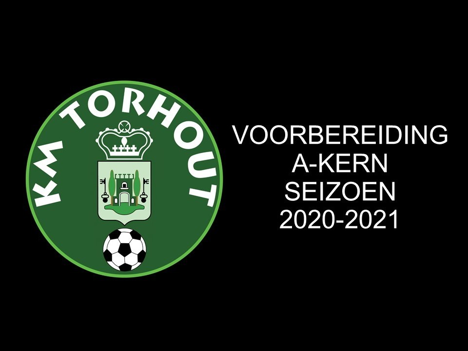 Voorbereidingsprogramma A-Kern 2020-2021