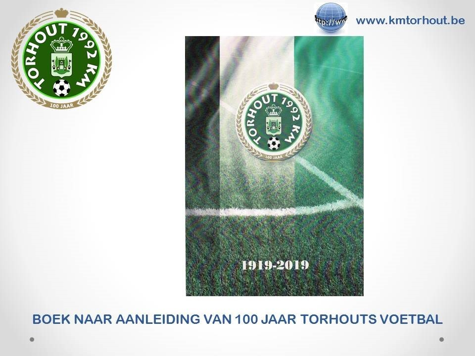 Boek ter ere van 100 jaar Torhouts voetbal