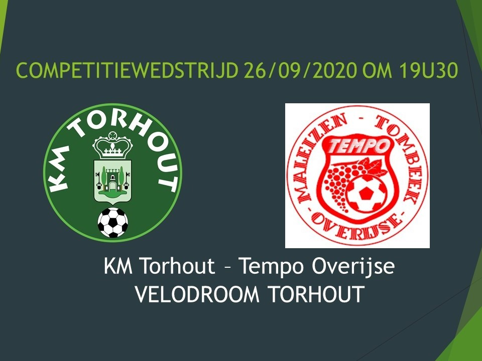 KM Torhout - Tempo Overijse 1-3