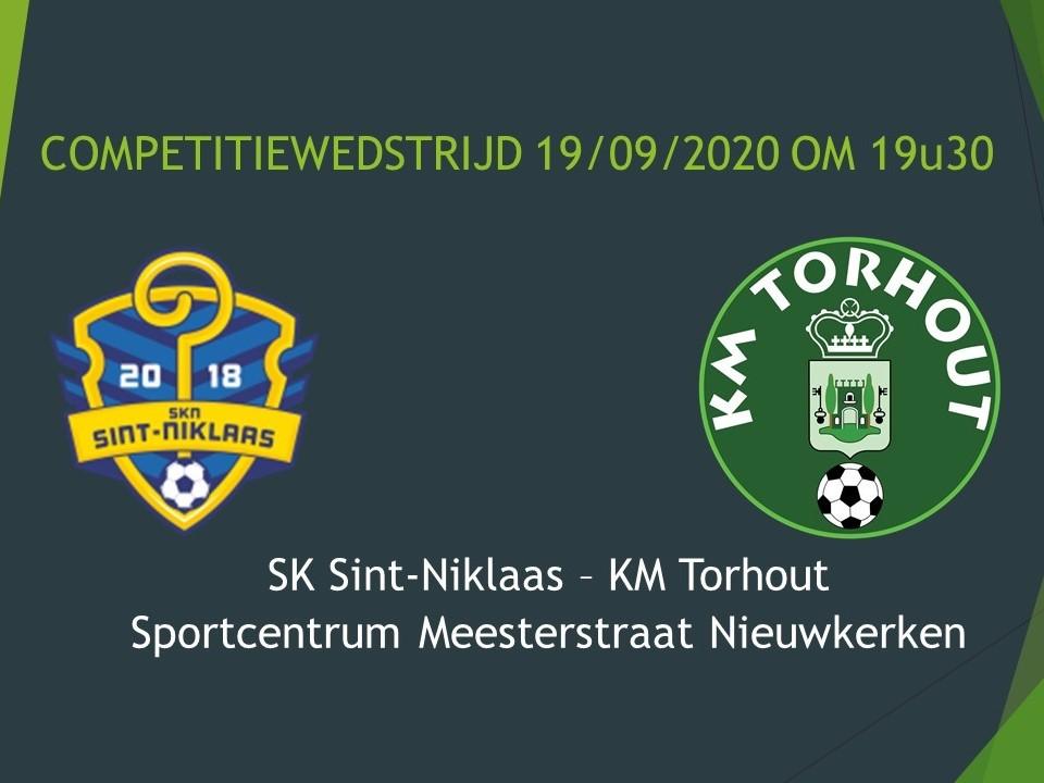 SKN Sint-Niklaas - KM Torhout 1-4