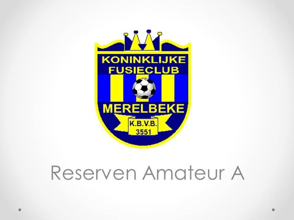 Reserven Amateur A - KFC Merelbeke 0-4