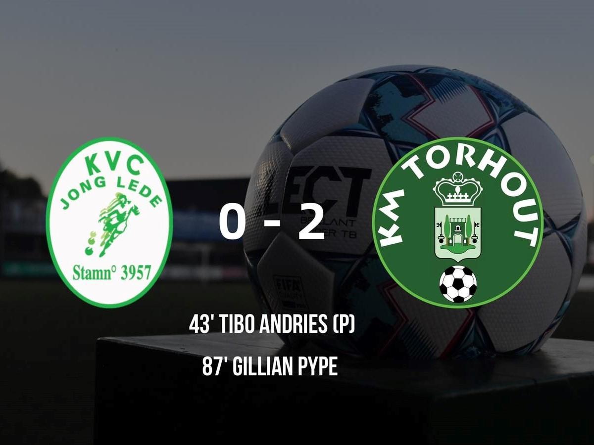 KVC Jong Lede - KM Torhout 0-2