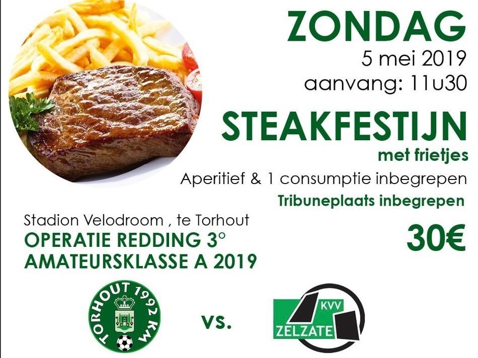 Steakfestijn met frietjes