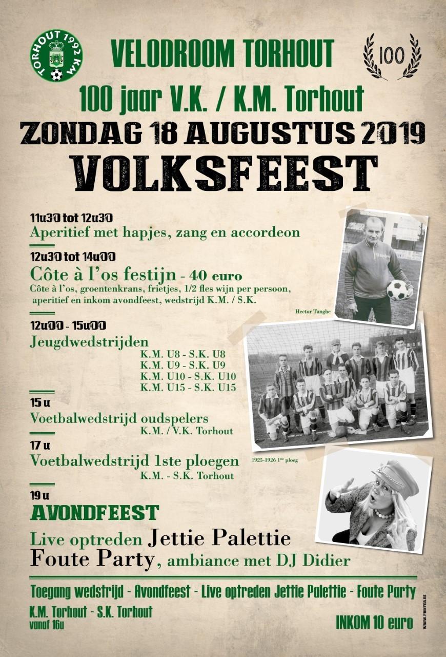 2019/08/18 100 Jaar Torhouts voetbal