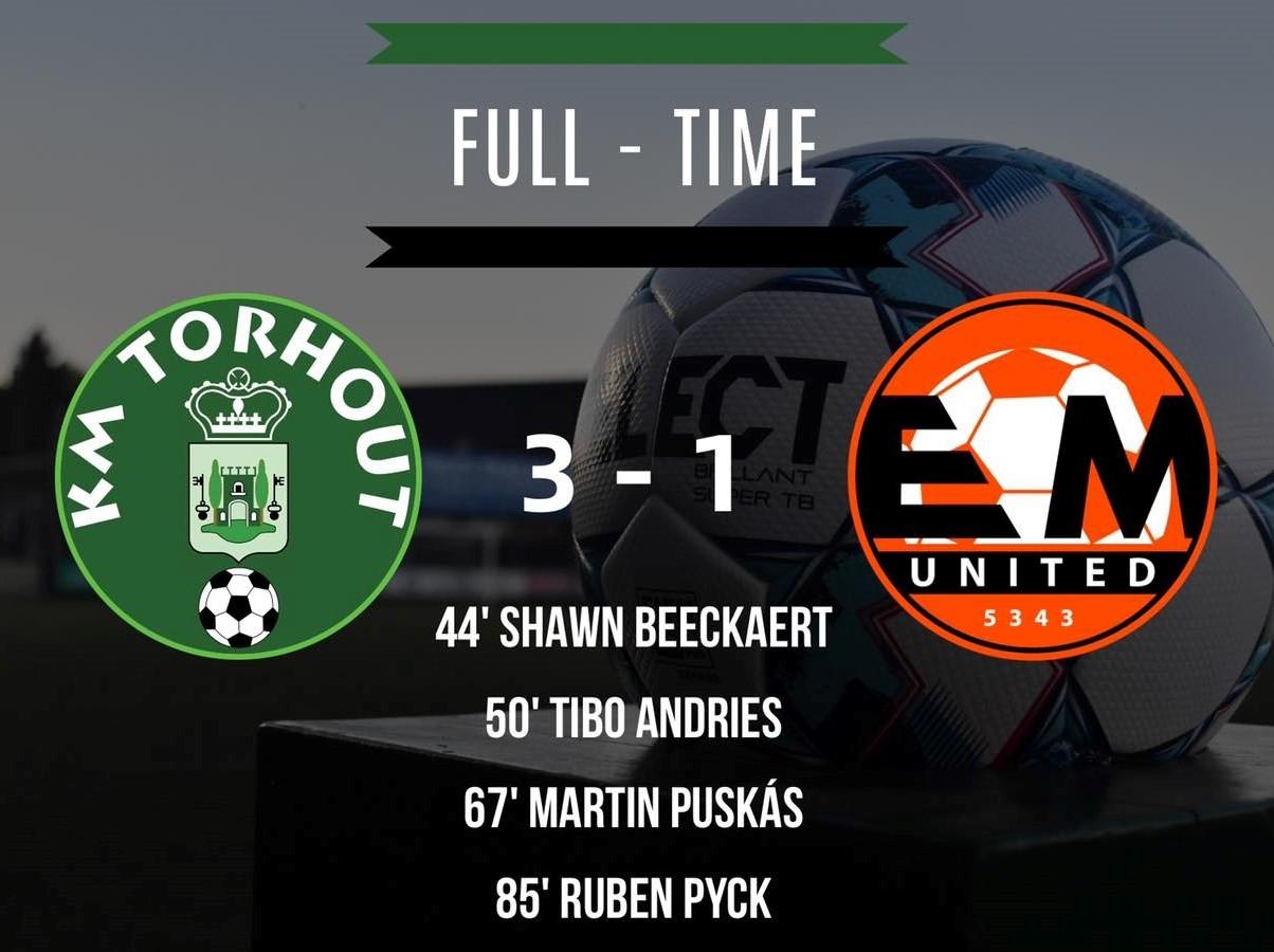 KM Torhout - Erpe Mere United 3-1