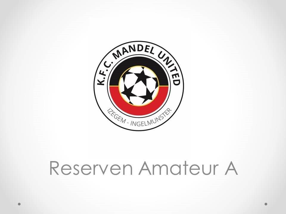 KFC Mandel United - Reserven Amateur A 3-3