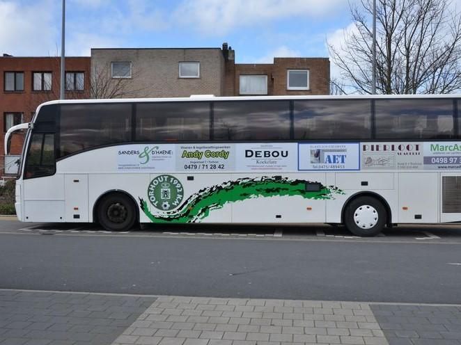 Supportersbus naar Lochristi