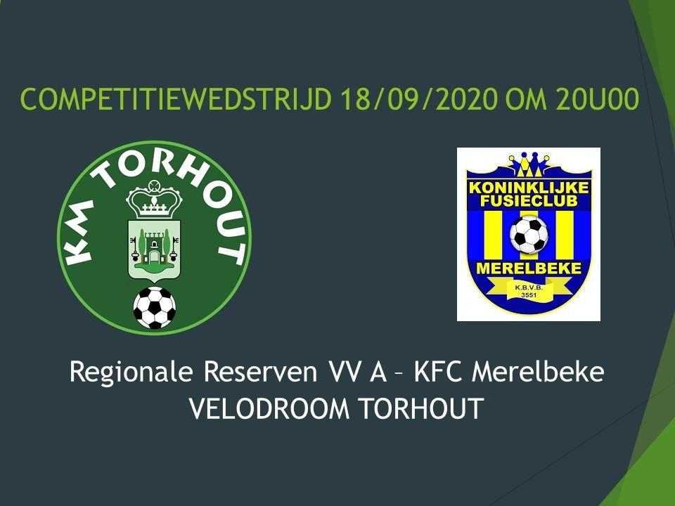 Regionale Reserven VV A - KFC Merelbeke 2-1