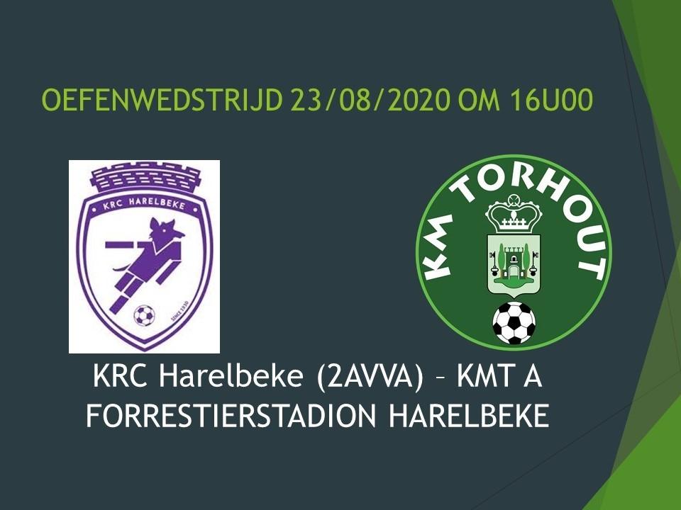 KRC Harelbeke - KMT A 2-1