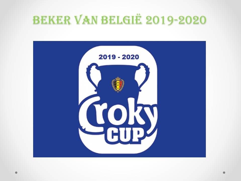 Opnieuw weinig aantrekkelijke loting Croky Cup