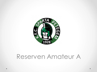 KFC Sparta Petegem - Reserven Amateur A 4-1
