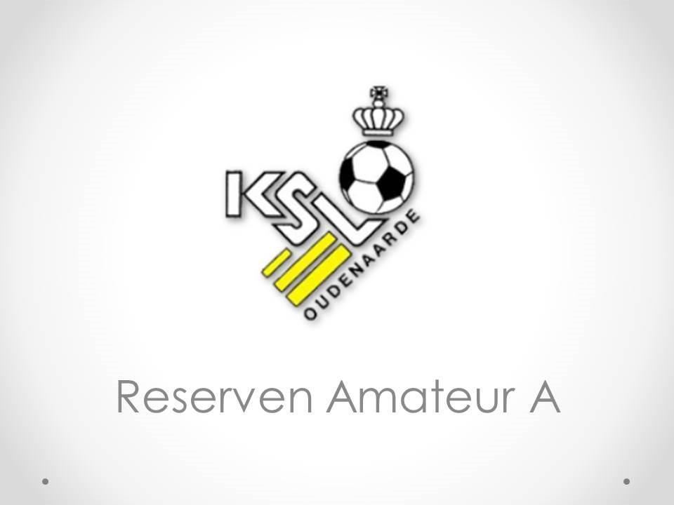 Reserven Amateur A - K.SV. Oudenaarde 0-4