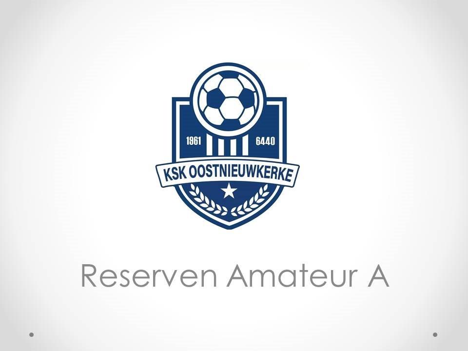 Reserven Amateur A - KSK Oostnieuwkerke 4-2