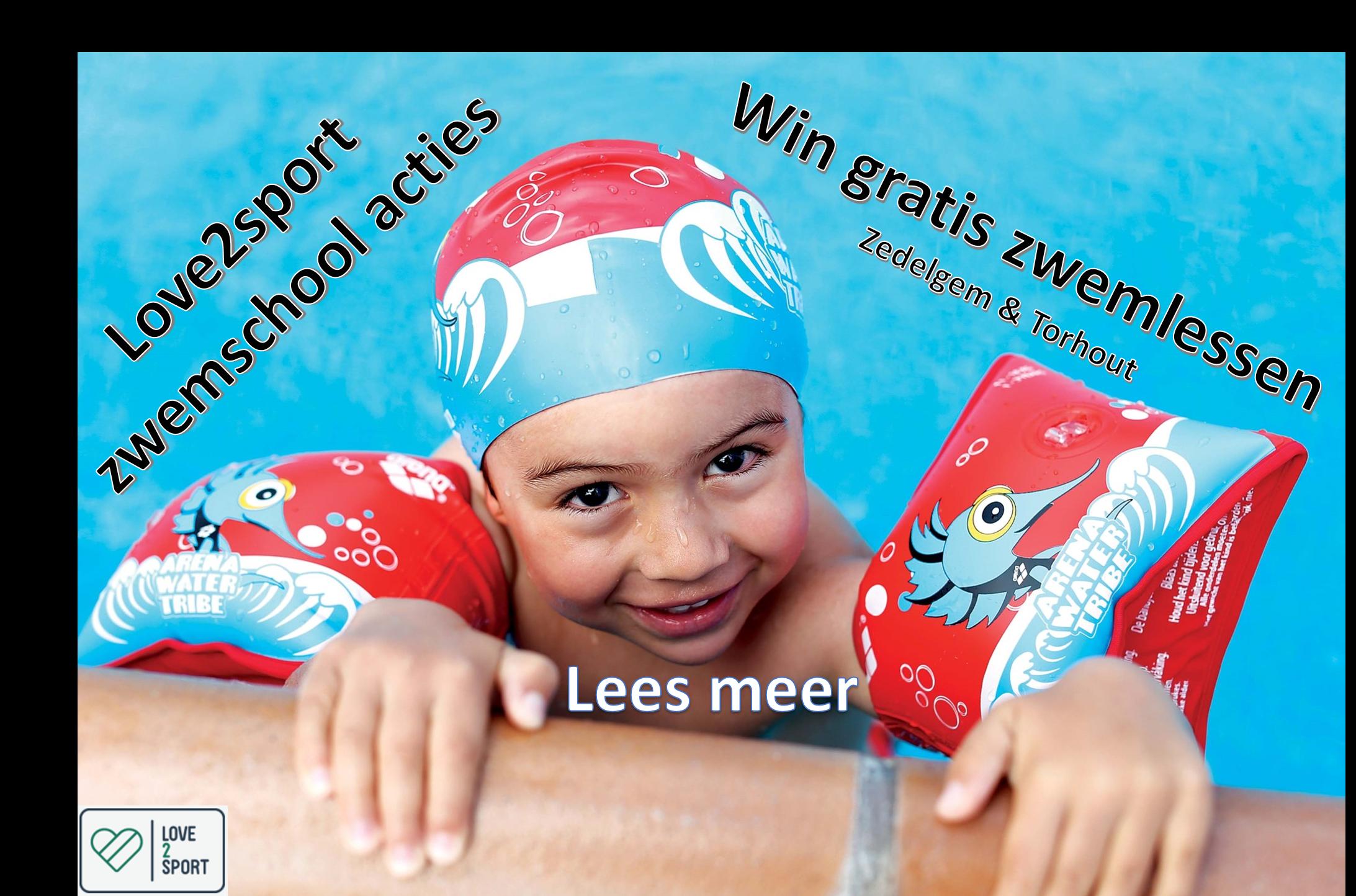 Love2sport zwemschool acties!
