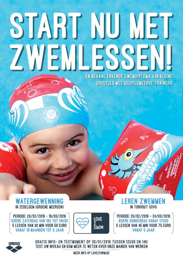 Love2swim zwemschool Zedelgem en Torhout