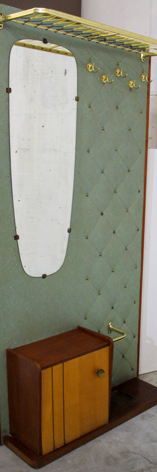 coat rack green/mirror