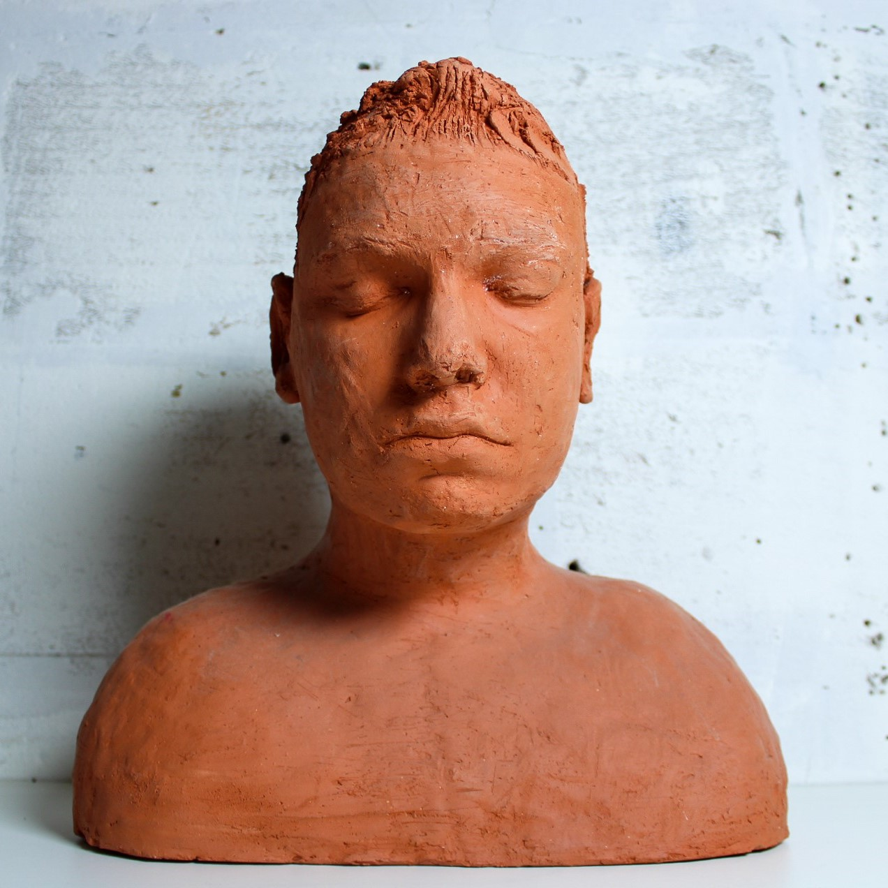 head in clay