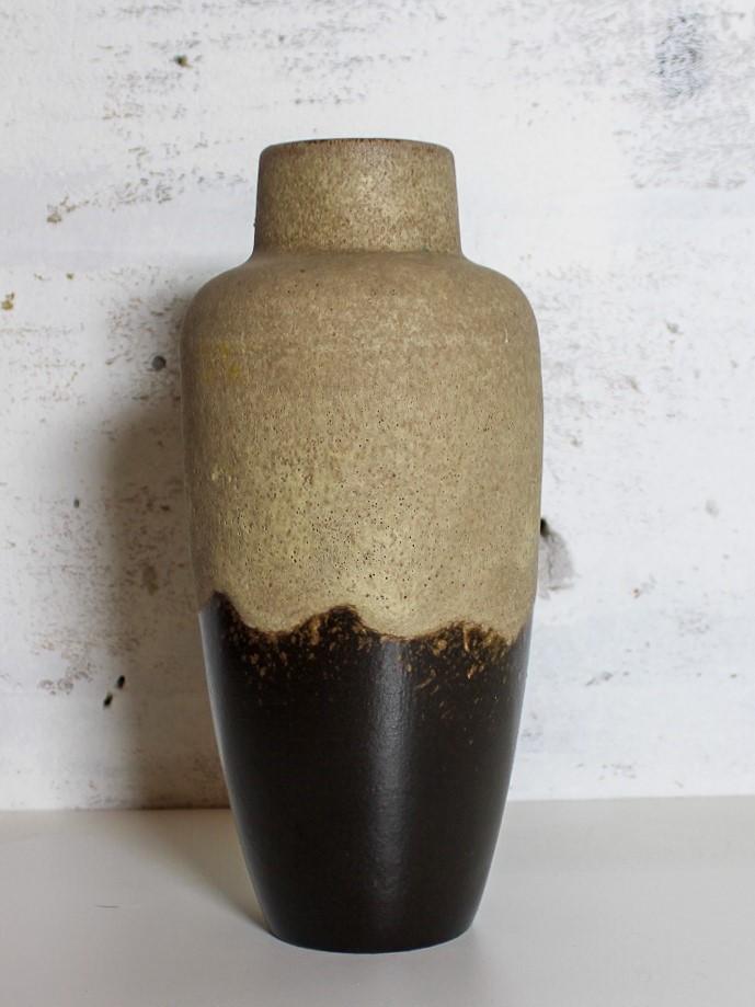 vase w-germany brown / beige