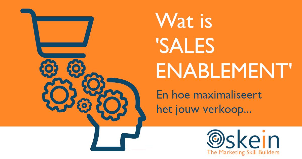 Wat is Sales Enablement?